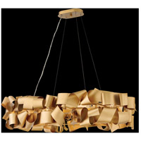 Fredrick Ramond FR48605DXG Delfina 6 Light 40 inch Deluxe Gold Linear Chandelier Ceiling Light alternative photo thumbnail