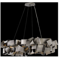 Fredrick Ramond FR48605MMB Delfina 6 Light 40 inch Metallic Matte Bronze Linear Chandelier Ceiling Light  alternative photo thumbnail