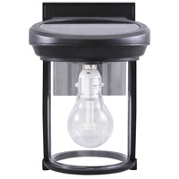 Gama Sonic GS-1B Signature LED 8 inch Black Coach Lantern
