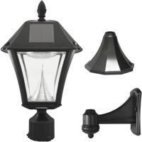 Gama Sonic 105033 Baytown II 1 Light 19 inch Black Post Lighting