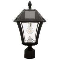 Gama Sonic 105B033 Baytown II Bulb LED 19 inch Black Wall Lantern