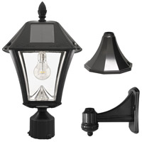 Gama Sonic 105B033 Baytown II LED 19 inch Black Post Lighting