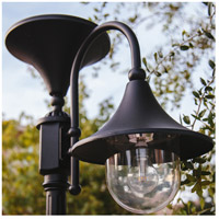Gama Sonic GS-109F-B Everest 20 inch Black Solar Lamp