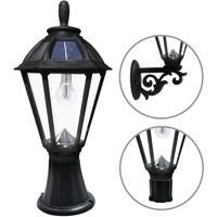 Gama Sonic 178033 Polaris LED 19 inch Black Post Lighting