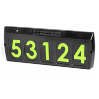 Signature Green Solar Address Light