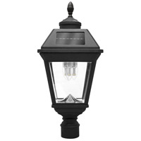 "Gama Sonic GS-97B3-F Imperial 23 inch Black Solar Light with 3"" Fitter"