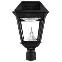 Gama Sonic 97N012 Imperial II LED 19 inch Black Post Light