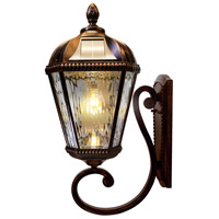 Gama Sonic GS-98B-W-BB Royal Bulb LED 21 inch Brushed Bronze Solar Wall Light
