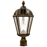 Gama Sonic 98B312 Royal LED 18 inch Weathered Bronze Post Light