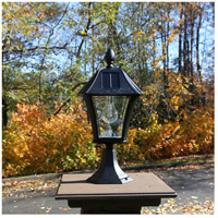 Gama Sonic Black Baytown Outdoor Lamps