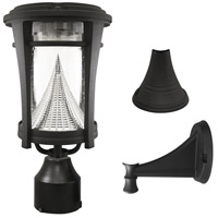 Gama Sonic GS-124FPW Aurora 13 inch Black Solar Light