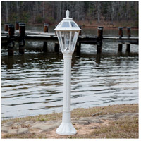 Gama Sonic GS-178L-WHT Polaris White Bollard Solar Light
