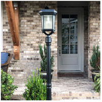 Gama Sonic GS-18F Colonial 17 inch Black Solar Light