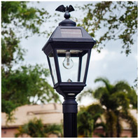 """Gama Sonic GS-97B-F Imperial 23 inch Black Solar Light with 3"""" Fitter"""