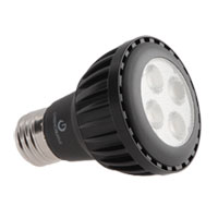Titanium Dimmable PAR20 E26 5.5 watt 3000K LED Bulb