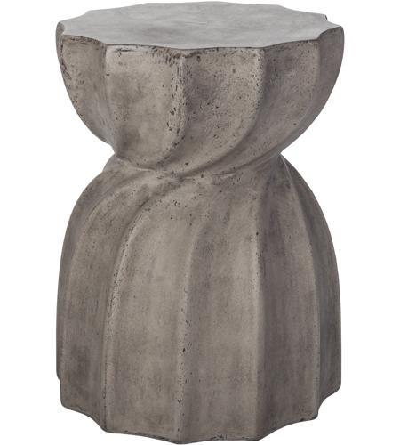 Guildmaster Industrial Warp X Inch Waxed Concrete Side - Industrial concrete side table