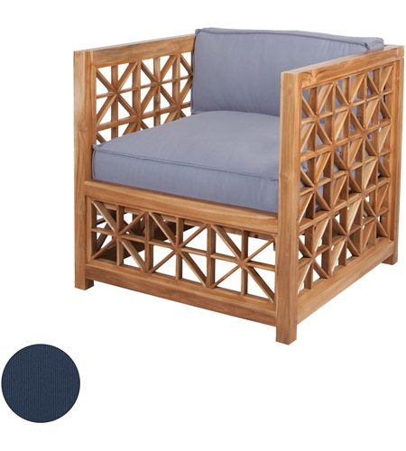 Enjoyable Guildmaster 2317002S No Vincent Lattice Navy Outdoor Chair Cushion Set Of 2 Ibusinesslaw Wood Chair Design Ideas Ibusinesslaworg
