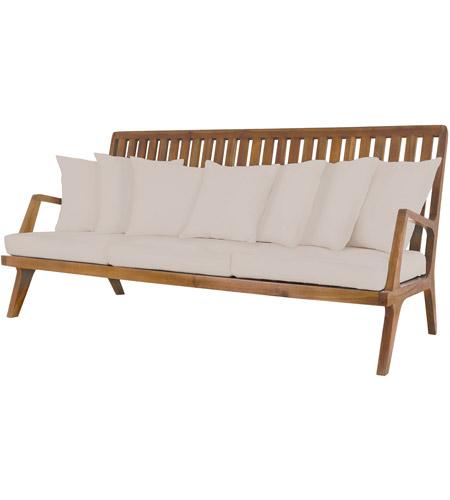 Guildmaster 2317011s Co Teak 26 X 20 Inch Cream Outdoor Sofa Cushions Photo
