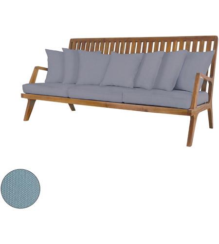 Guildmaster 2317011s So Teak 26 X 20 Inch Sea Green Outdoor Sofa Cushion Set Of 10