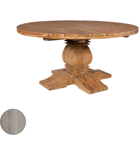 Guildmaster 6117501HT Tuscan 62 inch Henna Teak Outdoor Dining Table photo