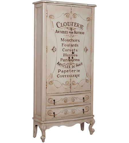 Guildmaster 642534 Lingerie Heritage Oyster Armoire photo