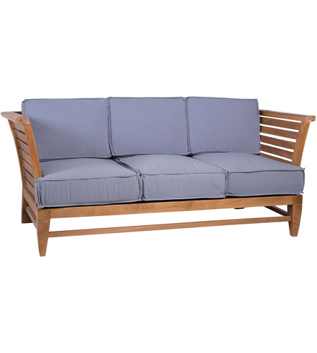 Guildmaster 6517503ET Galveston Pier Euro Teak Oil Outdoor Sofa photo