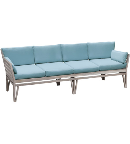 Guildmaster 6518004HT Newport Henna Teak Outdoor Sofa, 4-Seat photo