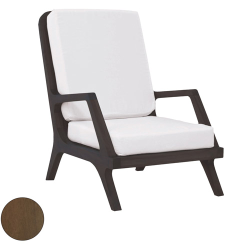 Guildmaster 6917014BU Teak Garden Burnt Umber Outdoor Lounge Chair photo