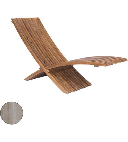 Guildmaster 6917507ht Teak Henna Teak Outdoor Folding Lounge Chair