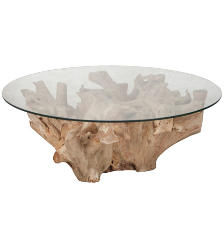 Oak Tree Root Coffee Table: Guildmaster 7116560 Root 24 X 24 Inch Natural Coffee Table