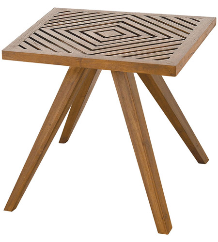 Guildmaster 7117009et Teak Patio 20 X Inch Euro Oil Outdoor Side Table Photo