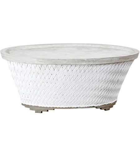 Guildmaster 7118004 Cape Town 48 X 28 inch Wicker White Outdoor Cocktail photo
