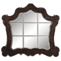Heritage 52 X 48 inch Heritage Grey Stain,Textured Champagne Wall Mirror Home Decor