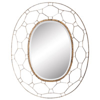 Manse 48 X 38 inch Antique Gold Wall Mirror