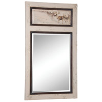 Vincent 63 X 35 inch Crossroads Rosa with Hand-Painted Wall Mirror