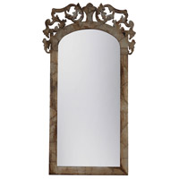 Artifacts 52 X 28 inch Natural Aged Old Tin Floor Mirror Home Decor, Architectural
