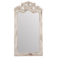 Crossroads 70 X 37 inch Crossroads European White Floor Mirror Home Decor, Florentine