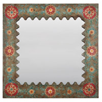 Guildmaster 105020 Painted Tin 50 X 50 inch Wall Mirror