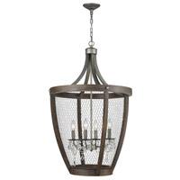 Guildmaster 1140-034-GM Renaissance Invention 4 Light 23 inch Weathered Zinc Basket Pendant Ceiling Light