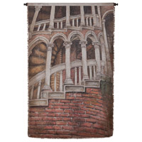 House With Ladder 57 X 34 inch Tapestry