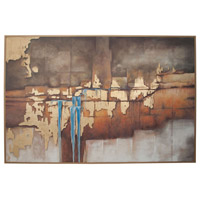 Abstract Waterfall Handpainted Art Wall Decor