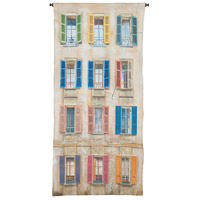 Window And Shutter 57 X 26 inch Tapestry