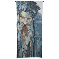 Figurative Man 57 X 26 inch Tapestry