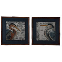 Guildmaster 164504S Great Blue Herons 27 X 27 inch Painting