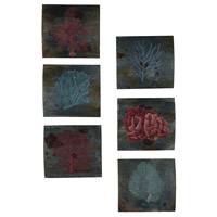 Guildmaster 164522S Decorative Sea Coral 12 X 11 inch Painting