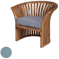 Teak Barrel Sea Green Outdoor Chair Cushion