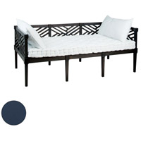 Teak 71 X 38 inch Navy Outdoor Daybed Cushion, Set of 3