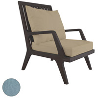Teak Patio 24 X 23 inch Sea Green Outdoor Lounge Chair Cushion, Set of 2