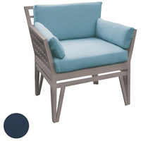 Newport Navy Outdoor Chair Cushion, Set of 4