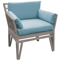 Newport 26 X 20 inch Sea Green Outdoor Chair Cushion